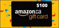 AMAZON $100 GIFT CARD Contest