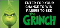 DR. SEUSS' THE GRINCH Pass contest