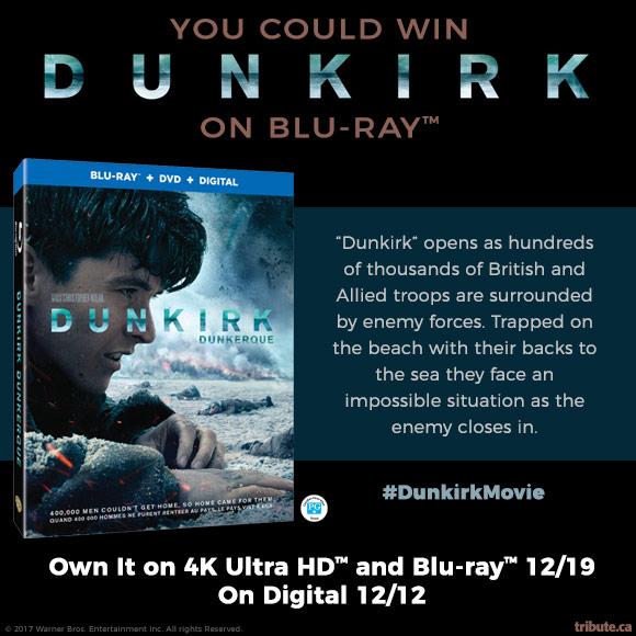 Dunkirk Blu-ray contest