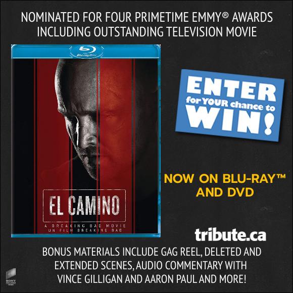 EL CAMINO: A BREAKING BAD MOVIE Blu-ray Contest