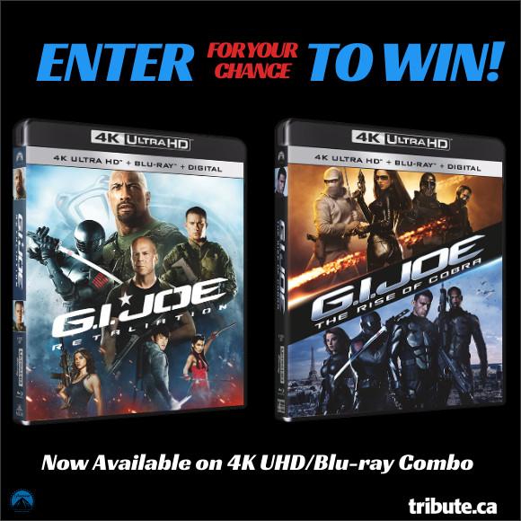 G.I. JOE 4K ULTRA HD Movie Set Contest