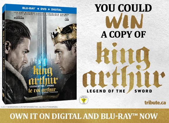 King Arthur Legend Of The Sword Blu-ray contest