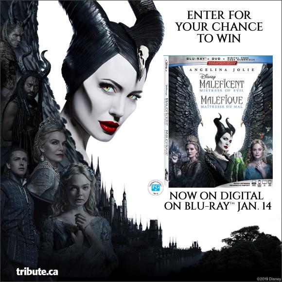MALEFICENT MISTRESS OF EVIL Blu-ray contest