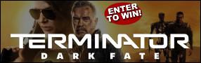 TERMINATOR: DARK FATE Blu-ray contest Contest