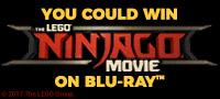 The LEGO Ninjago Movie Blu-ray DVD contest