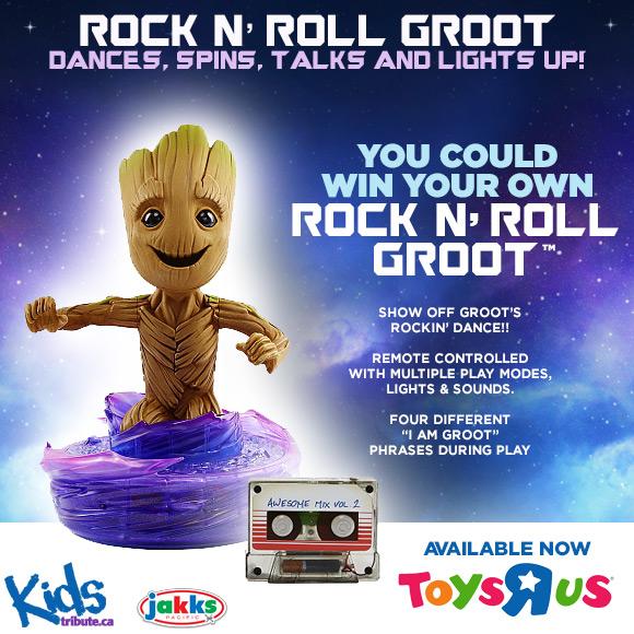 Rock N' Roll Groot contest