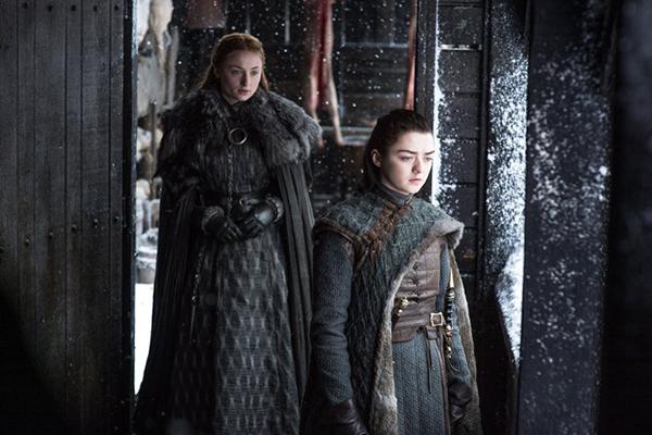 Sansa and Arya discuss the past