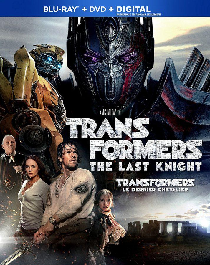 Transformers: The Last Knight on Blu-ray