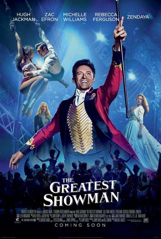 The Greatest Showman starring Hugh Jackman