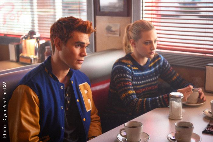 Riverdale stars KJ Apa and Lili Reinhart