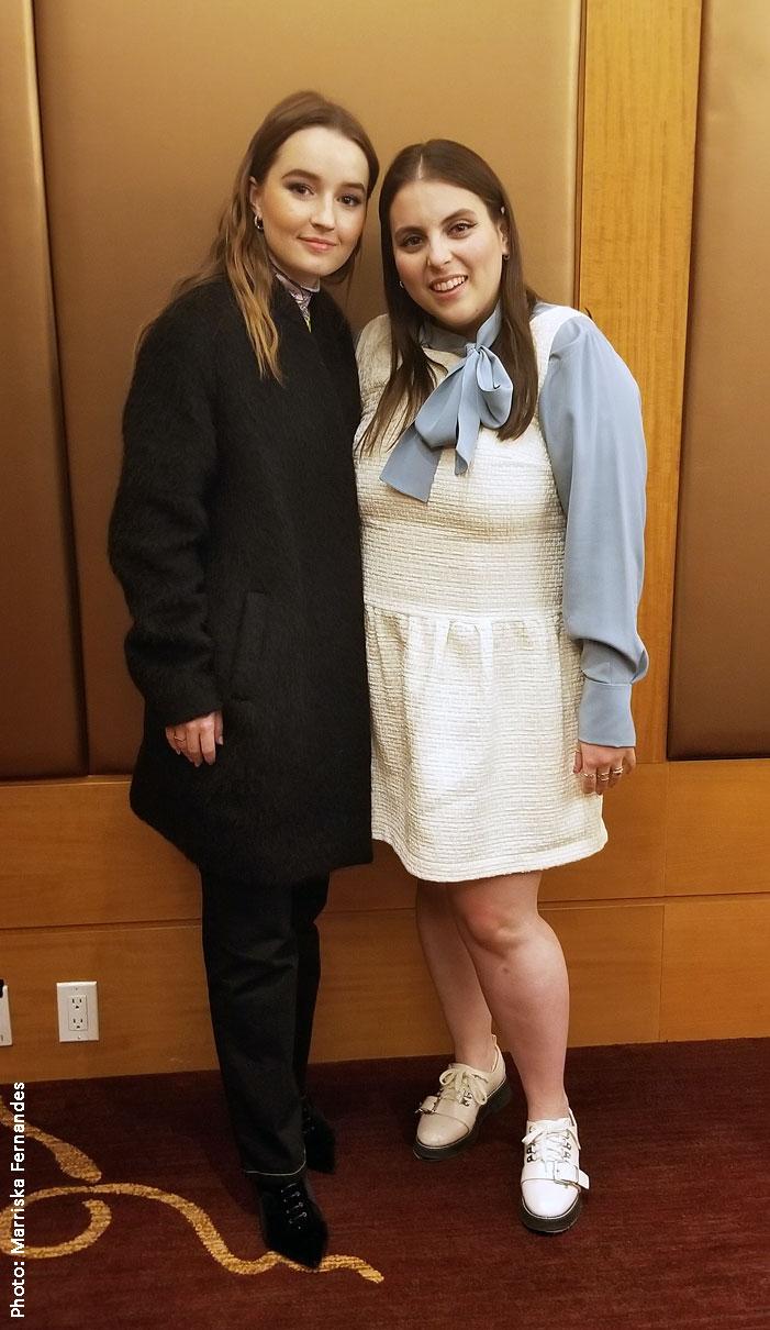 Kaitlyn Dever and Beanie Feldstein star in Booksmart