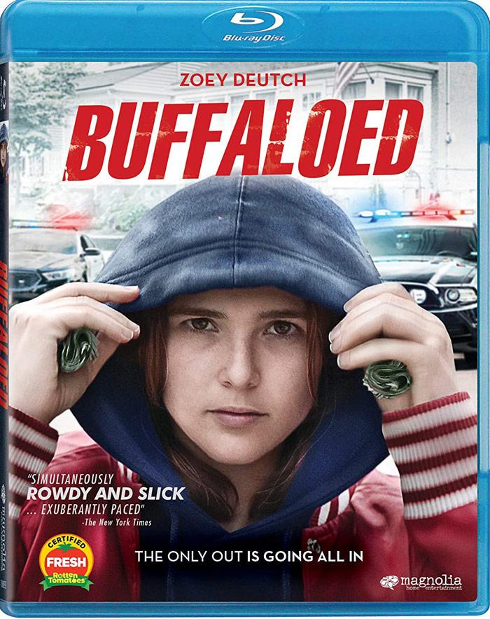 Buffaloed on Blu-ray