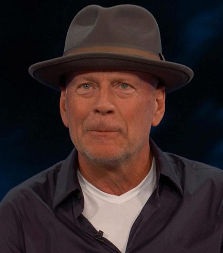 Bruce Willis © Team Coco