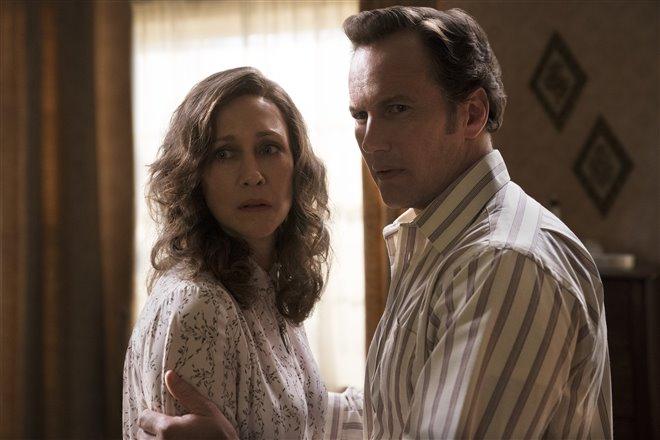 Vera Farmiga and Patrick Wilson in The Conjuring: The Devil Made Me Do It
