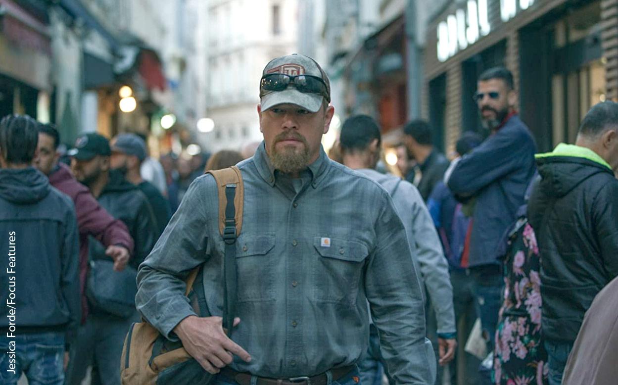 Matt Damon in Stillwater. Jessica Forde/Focus Features
