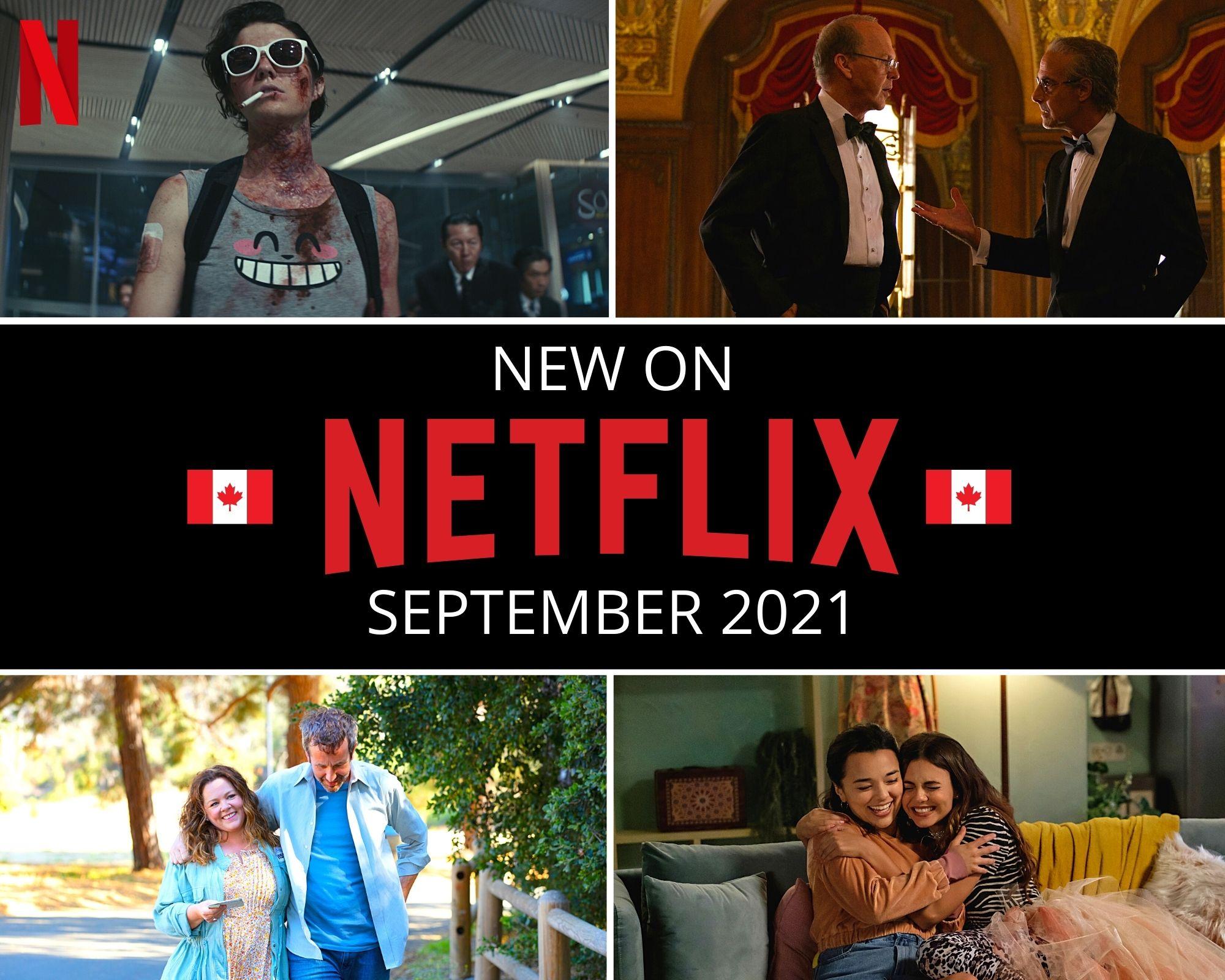 New on Netflix September 2021 Canada